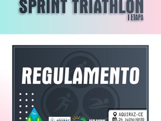 REGULAMENTO - CAMPEONATO CEARENSE DE SPRINT TRIATHLON - I ETAPA - 24/07/2021.