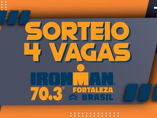 SORTEIO DE 4 VAGAS PARA O 70.3 FORTALEZA 2020 - PARTICIPE!