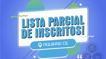 "LISTA PARCIAL - ""CAMPEONATO CEARENSE DE SPRINT TRIATHLON - I ETAPA - 2021"""