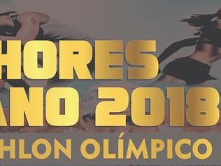 MELHORES DO ANO DE 2018 - TRIATHLON OLÍMPICO