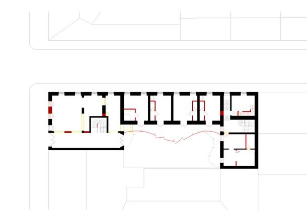 Grundriss Erdgeschoss Umbau