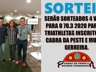 SORTEIO DE 4 VAGAS PARA O 70.3 FORTALEZA 2020 - INSCREVA-SE E PARTICIPE!