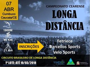 Faltam apenas dois dias para virada do 1º lote do Circuito Brasileiro de Longa distância