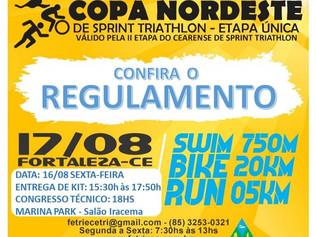 COPA NORDESTE DE TRIATHLON 17/08 - CONFIRA SUA NUMERAÇÃO