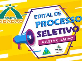 EDITAL DE PROCESSO SELETIVO PARA SUPERVISOR, PROFESSOR E ESTAGIÁRIO - PROJETO ATLETA CIDADÃO