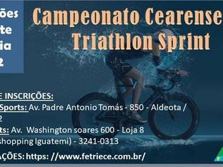 Atenção triatletas: 31/12 teremos a virada de preço do Sprint Triathlon. Faça já sua inscrição!!!