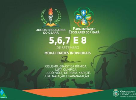 Últimos dias de competições dos Jogos Escolares do Ceará 2019 prometem agitar Fortaleza