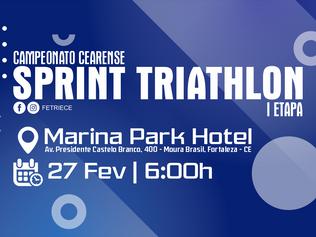 CAMPEONATO CEARENSE DE SPRINT TRIATHLON - I ETAPA | 27/02/2021 |