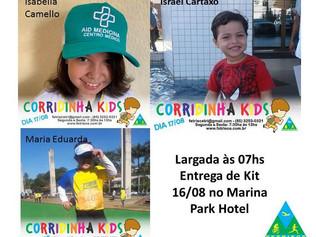 CORRIDINHA KIDS - FETRIECE - LISTA DE INSCRITOS