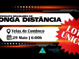 INSCRIÇÕES ABERTAS - CAMPEONATO BRASILEIRO DE LONGA DISTÂNCIA - 2021 - Velas do Cumbuco/CE