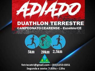 EVENTO ADIADO CAMPEONATO CEARENSE DUATHLON TERRESTRE - 26/10/2019
