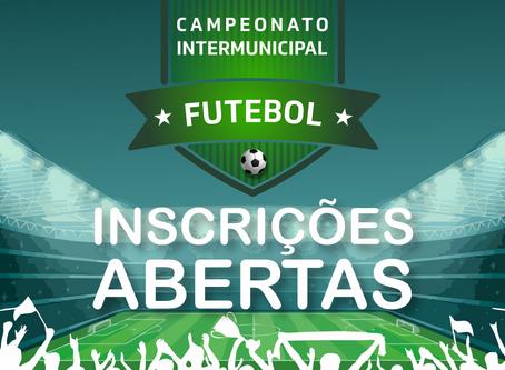 Inscrição para o Campeonato Intermunicipal de Futebol 2019