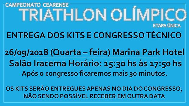 CONGRESSO TÉCNICO E ENTREGA DE KITS CAMPEONATO CEARENSE DE