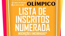 LISTA DE INSCRITOS NUMERADA - CAMPEONATO CEARENSE DE TRIATHLON OLÍMPICO
