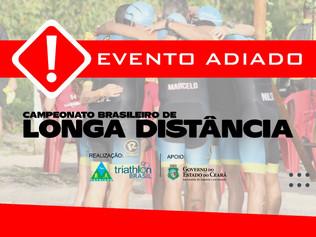 ADIADO!!! - CAMPEONATO BRASILEIRO LONGA DISTANCIA 2020