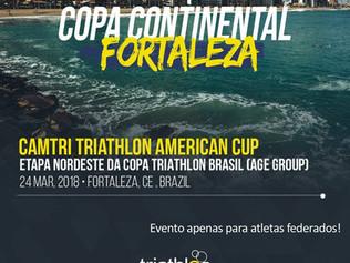 COPA CONTINENTAL: ELITE/ U23 e COPA BRASIL DE SPRINT TRIATHLON ETAPA NORDESTE. CAUCAIA/CE.