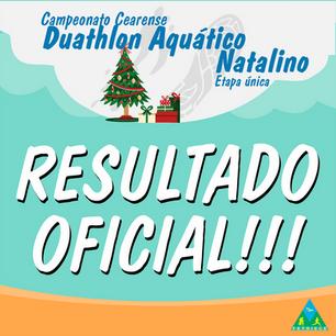RESULTADO OFICIAL - DUATHLON AQUATICO NATALINO 12_12_2020
