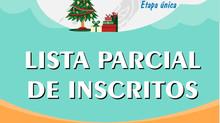 LISTA PARCIAL DE INSCRITOS - CAMPEONATO CEARENSE DE DUATHLON AQUÁTICO NATALINO.