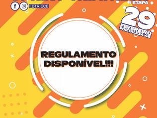 REGULAMENTO - CAMPEONATO CEARENSE DE SPRINT TRIATHLON - I ETAPA - 29/02/2020.