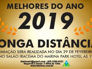 MELHORES DO ANO DE 2019 - LONGA DISTÂNCIA