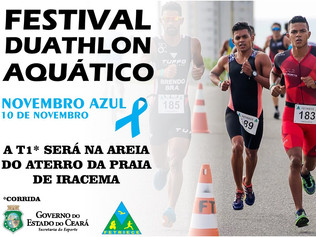 FESTIVAL DUATHLON AQUÁTICO - LIMITE DE 200 INSCRIÇÕES