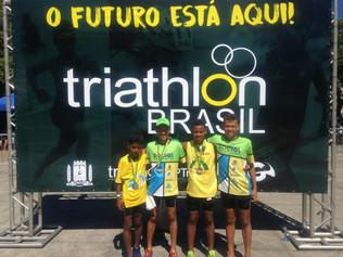 Fetriece parabeniza os Triatletas que competiram nesse final de semana.