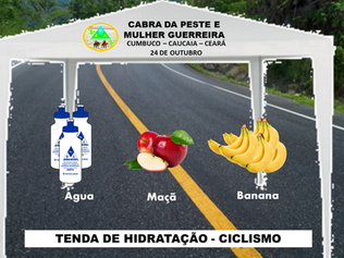 TENDAS DE DEGUSTAÇÃO - CABRA DA PESTE E MULHER GUERREIRA 2020.