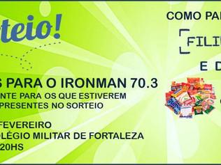 SORTEIO DE 5 VAGAS PARA O IRONMAN 70.3 - FILIE-SE, DOE E PARTICIPE!