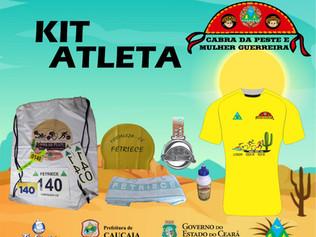 """Kit do Atleta - """"Cabra da Peste e Mulher Guerreira 2020"""""""