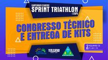 CONGRESSO TÉCNICO E ENTREGA DE KITS - CAMPEONATO CEARENSE DE SPRINT TRIATHLON - I ETAPA 2021