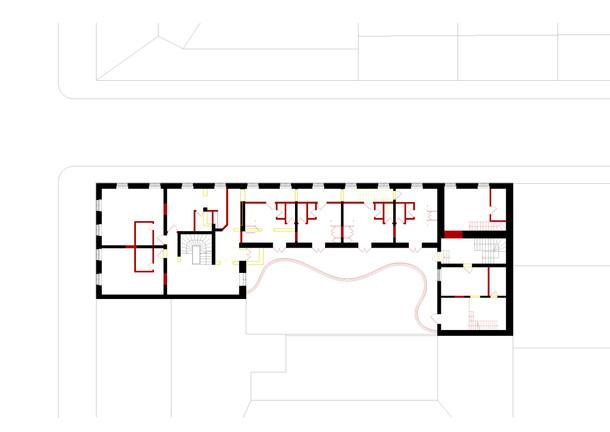 Grundriss Obergeschoss Umbau