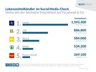 LEH: Hofer top auf Facebook und Co