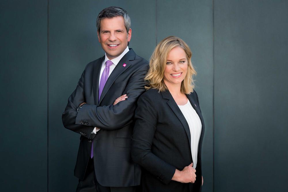 Corinna Milborn & Thomas Mohr (c)