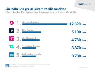 LinkedIn: Die große österreichische Medienanalyse