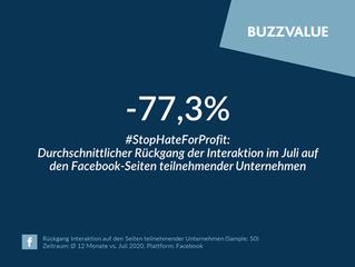#StopHateForProfit: Der Juli im Rückblick