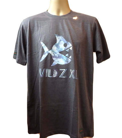 WILDZ XL Piranha T-shirt Grey