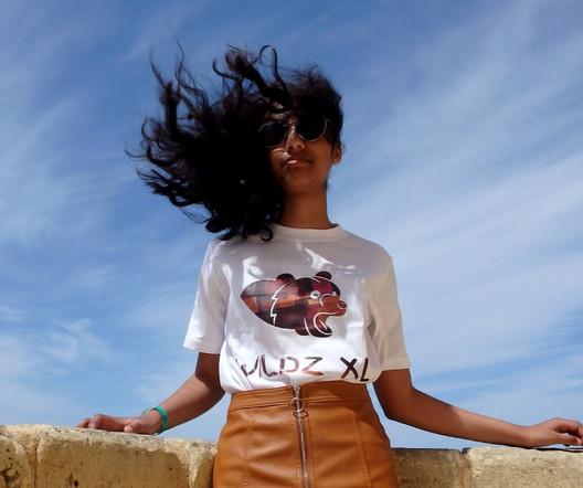 WILDZ XL white Bear 1st edition T-shirt, Lona