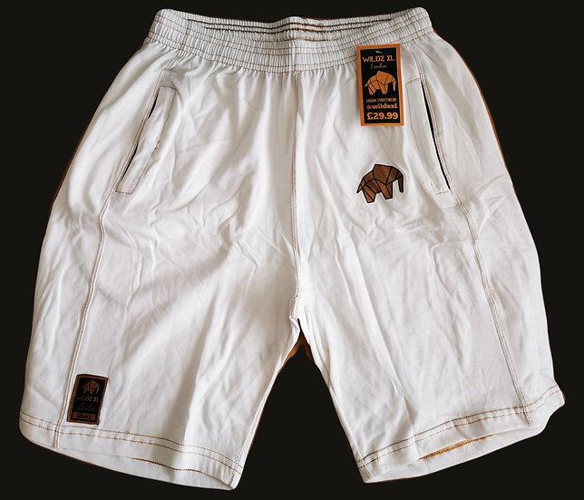 WILDZ XL White Basketball shorts