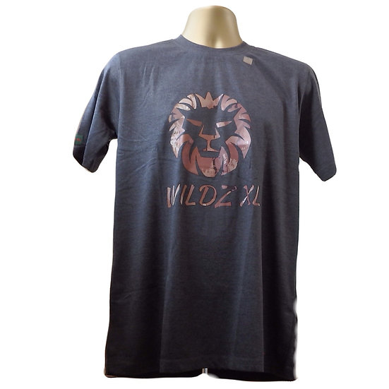WILDZ XL Lion T-shirt Grey