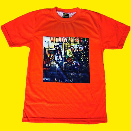Wildz Life Album Cover T-shirt