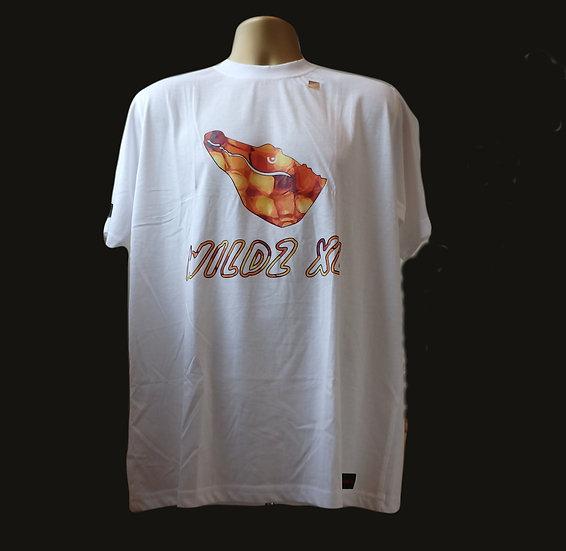 WILDZ XL Crocodile T-shirt White