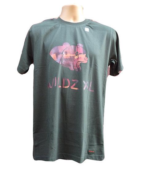 WILDZ XL Bear T-shirt Green