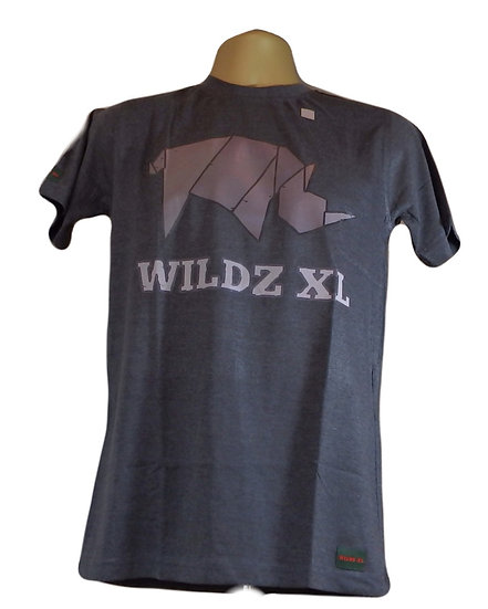 WILDZ XL Rhino T-shirt Grey