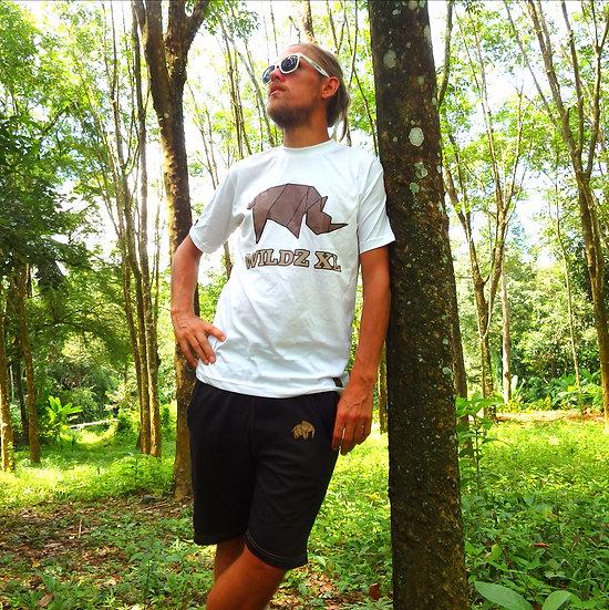 WILDZ XL Rhino T-shirt White