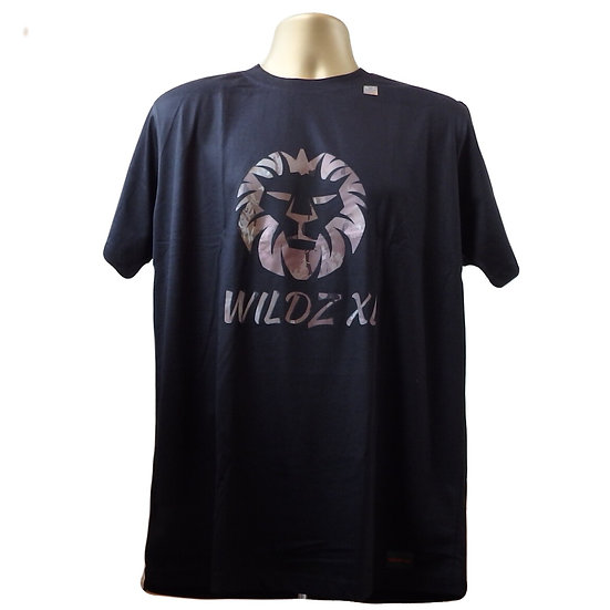 WILDZ XL Lion T-shirt Black