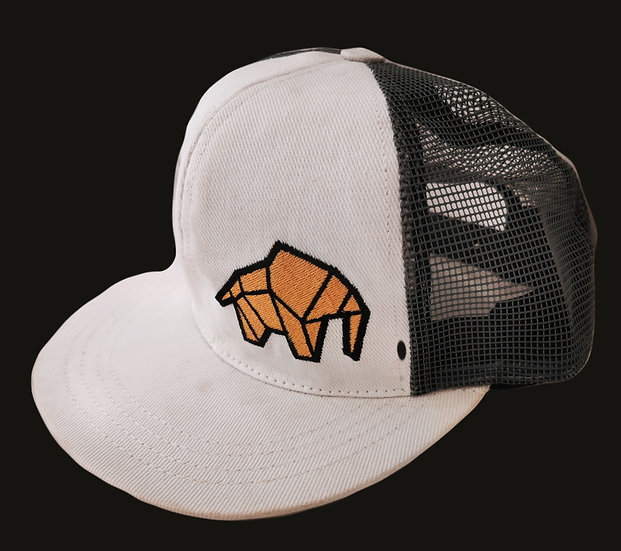 WILDZ XL Snap back white & mesh model
