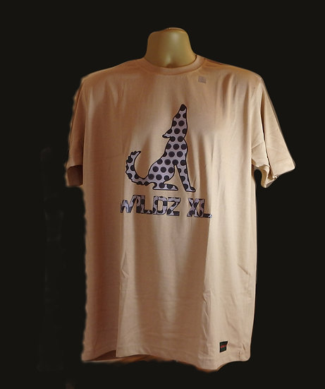 WILDZ XL Wolf T-shirt Beige