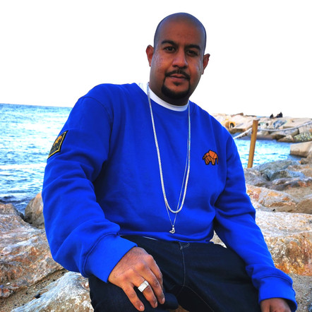 WILDZ XL Royal Blue Elephant sweatshirt, Hav-it