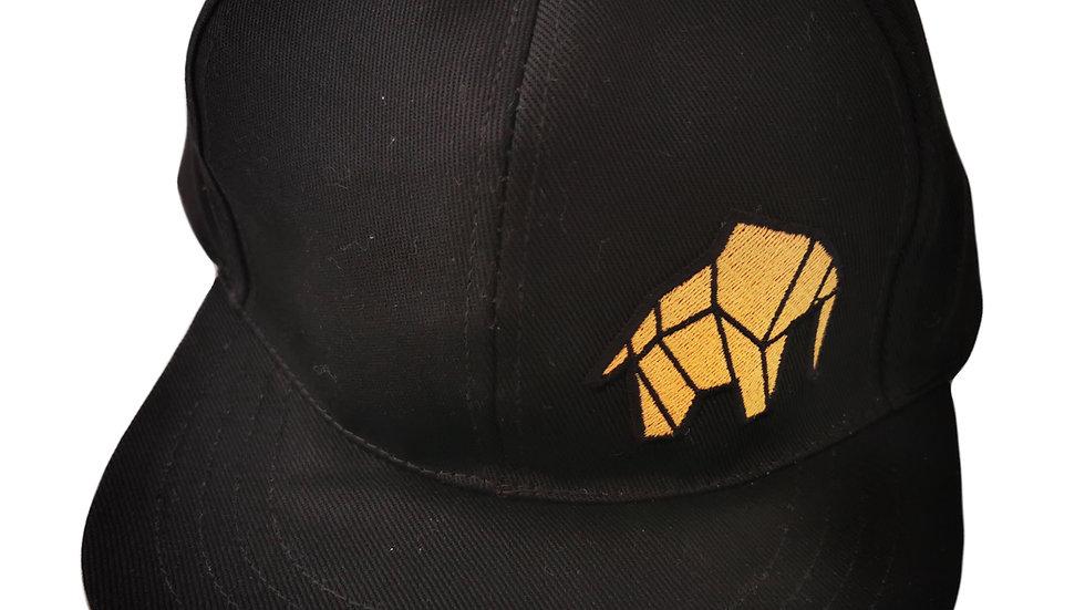 WILDZ XL Elephant Logo Black Snap-back cap