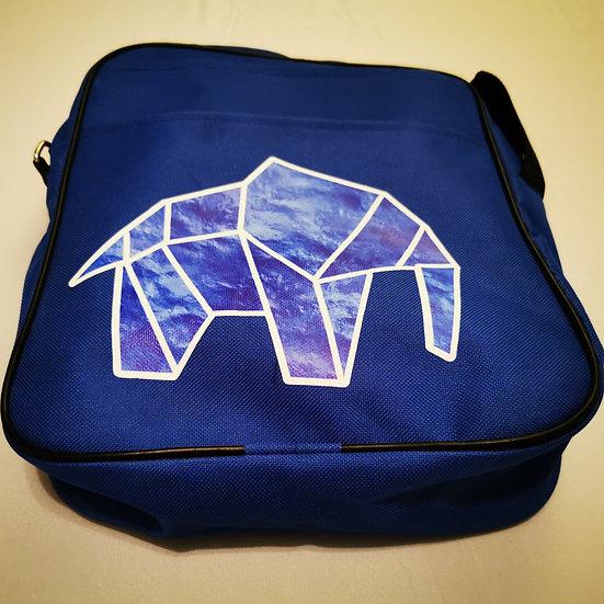 WILDZ XL BLue Elephant design bag